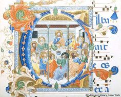 Gradual, MS M.653 no. 4 (II.25) - Images from Medieval and Renaissance Manuscripts - The Morgan Library & Museum
