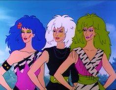 The trashy rock band The Misfits Cartoon Movies, Cartoon Kids, Girl Cartoon, New Movies, Cartoon Characters, Cartoon Icons, Jem And The Holograms, Hologram Movie, Dreamworks