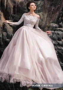 Long sleeve wedding dress Cristall form Crystal World wedding dress collection 2019 Crystal Wedding Dresses, Dream Wedding Dresses, Royal Weddings, Long Sleeve Wedding, Lace Bodice, Wedding Images, Bridal Boutique, Dream Dress, Dress Collection