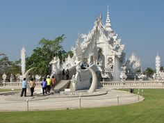 Wat Rong Khun the White Temple, Thailand