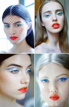 Christian Dior fall 2012 haute couture beauty, courtesy of style.com     http://www.style.com/beauty/backstage/072012_Christian_Dior/