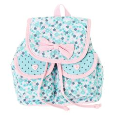 Kids Floral Mini Backpack