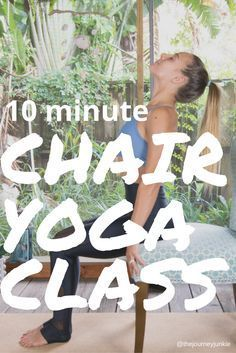 Chair Yoga Video: 10 Minute Seated Rejuvenation Flow - Pin now, feel energized and relaxed 10 minutes from now!