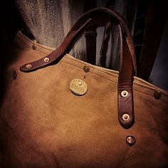 2way totebug 手染め帆布手染め栃木レザー 2wayトートバッグ #革#レザー#レザークラフト#帆布#真鍮#ブラス#トートバッグ#バッグ#リベット#手染め#ヴィンテージ#leather#leatherbags #canvas #copper #rivet#handdying#brass#vintage#handmade#madeinJapan#leathergoods by halflife_l