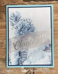 See 6 simple cards that will be your favorites to make. It's all about showing how to make a card with beautiful designer paper quickly and easily! Homemade Christmas Cards, Stampin Up Christmas, Christmas Cards To Make, Xmas Cards, Homemade Cards, Handmade Christmas, Holiday Cards, Christmas Diy, Simple Christmas