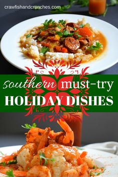Some unique southern holiday recipes, with a few healthy twists and ingredient substitutions