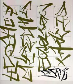 Graffiti Letters: 61 graffiti artists share their bomb