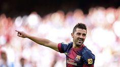 David Villa: Tengo un año más de contrato con el Barça | FC Barcelona Noticias