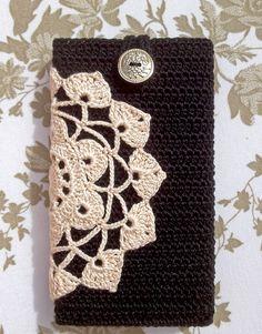 Patrones Crochet: Funda de Crochet para Telf Moviles