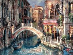 Cao Yong Over the Bridge painting online, painting