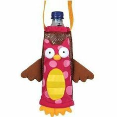 Eulen Eule Owl Owls Flaschen Tasche Flaschentasche Flaschenhalter Stephen Joseph Bottle Buddies ideal für den Kindergarten oder unterwegs von Bavaria Home Style Collection, http://www.amazon.de/dp/B00K183T1S/ref=cm_sw_r_pi_dp_p5oytb1RXJS65