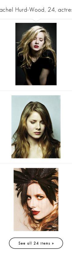 """""""Rachel Hurd-Wood, 24, actress"""" by imkiary ❤ liked on Polyvore featuring rachel hurd-wood, celebrities, redhead, people, models and rachel hurd wood"""