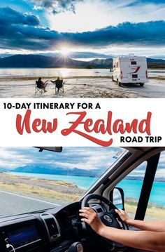 The Ultimate 10-Day Itinerary for a Road Trip around New Zealand South Island (including the BEST spots to camp for free)!