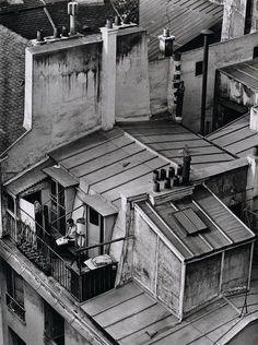 André Kertész - Quartier Latin, Paris, 1926