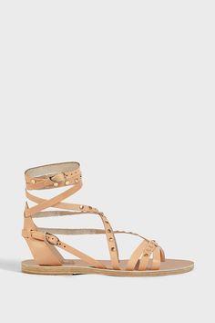 ANCIENT GREEK SANDALS SATIRA NAILS SANDALS. #ancientgreeksandals #shoes #