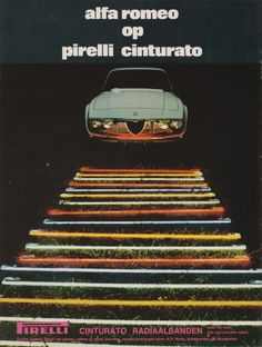 Pirelli Alfa Romeo Junior Zagato Advertisement