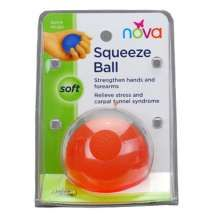The Exercise Squeeze Ball by Nova is one of MANY senior-friendly items. You'll find many helpful & appreciated gifted ideas for parents & grandparents.