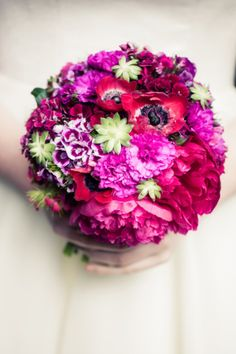 Mostly dianthus varieties in this lovely bouquet. British home grown wedding flowers