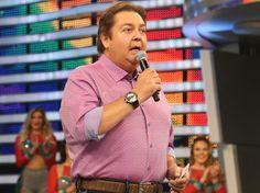 O apresentador Fausto Silva, o Faustão