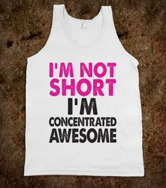 I'm Not Short - The Good Life - Skreened T-shirts, Organic Shirts, Hoodies, Kids Tees, Baby One-Pieces and Tote Bags