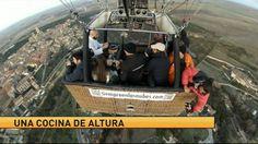 Alta cocina en globo en Antena 3