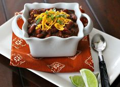 "For those days when "" comfort"" needs a little southern gourmet - Spicy Meals for Chilly Days: Fire Roasted Chipotle Turkey Chili"