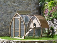 Love this chicken house. Such a beautiful design!