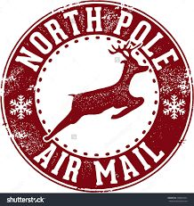 Image result for santa stamp envelope free printable