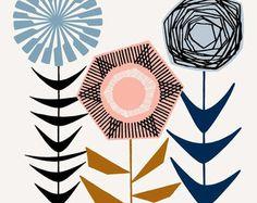 Yo amor flores No2 láminas de edición limitada por EloiseRenouf