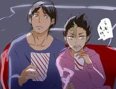 Haikyuu!! - Asahi and Nishinoya