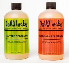 Dollylocks 350ml Tea Tree Spearmint Liquid Dreadlock Shampoo