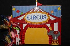 Can't wait to put my Circus photos in this fun album!