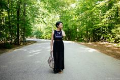 Epic Weekend crop top and maxi skirt. www.thebobbedbrunette.com