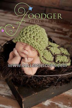 Hatchling Turtle-  The Original Cuddle Critter Cape Set  - Newborn Photography Prop. $40.00, via Etsy.