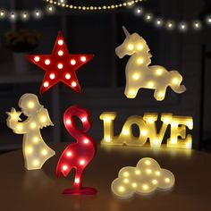 LED Night Light Lamp Light Novelty Luminaria 3D Flamingo Cactus Nightlight Marquee Letter Light For Children Kids Babyroom Decor -  Compare Best Price for LED Night Light Lamp Light Novelty Luminaria 3D Flamingo Cactus Nightlight Marquee Letter Light For Children Kids Babyroom Decor product. We give you the discount of finest and low cost which integrated super save shipping for LED Night Light Lamp Light Novelty Luminaria 3D Flamingo Cactus Nightlight Marquee Letter Light For Children Kids…
