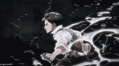 """Day 21 - A power/ability you wish you had: The ability to be Levi (""""Shingeki no Kyojin""""). Unfortunately, one does not simply be Levi (except for Levi)."""