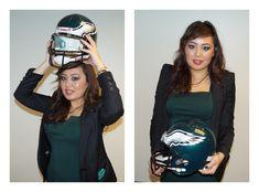 The Philadelphia Eagles turned into fashion models