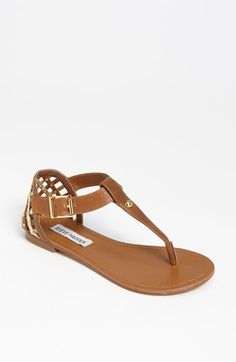 Steve Madden 'Sutttle' Sandal | Nordstrom    serious shoe envy. update: envy cured via purchasing on sale!