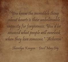 Sherrilyn Kenyon Acheron quote