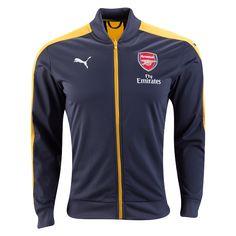 Arsenal 16/17 Away Stadium Jacket - $89.99 Holiday Gift ideas for the Arsenal Fan