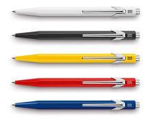 Amazon.com : Caran D'Ache 849 Metal Ballpoint Pen - Red : Ballpoint Stick Pens : Office Products