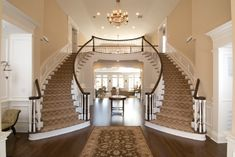 Staircases That Would Make Scarlett Swoon - Hooked on Houses