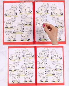 Your kids or students are already getting a hang on subtraction withing 20 and you need a fun way for them to practice it a little bit more (or to review their knowledge).