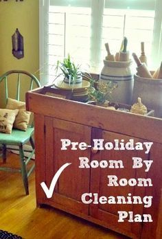 As fall approaches, I like to start a deep cleaning of the house before all the holiday decor...