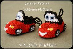 Crochet Pattern Baby booties 'Lightning by HandMadeByNatalija, €2.20