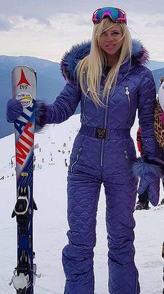 Ski Fashion, Winter Fashion, Female Fashion, Daily Fashion, Ski Jumpsuit, Ski Bunnies, Winter Suit, Snow Suit, Skiing