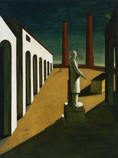 The Enigma of a Day, Giorgio de Chirico