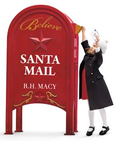 Remember writing letters to Santa