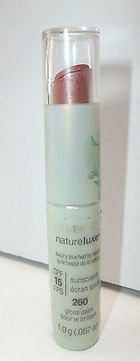 CoverGirl Lip Gloss Balm Natureluxe 260 Clay SPF 15 PENNY Big Sale FREE SHIP just listed at ThenAndAgainTreasures on eBay