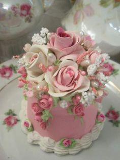 (Roses Of Joy) Fake Cake                                                                                                                                                                                 More